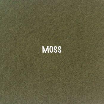 Fusion Self Adhesive Felt - Moss