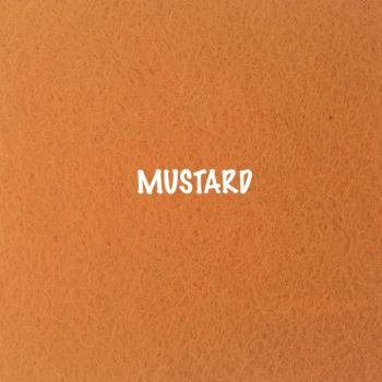 Fusion Self Adhesive Felt - Mustard