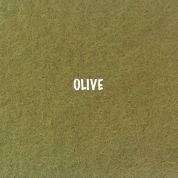 Fusion Self Adhesive Felt - Olive