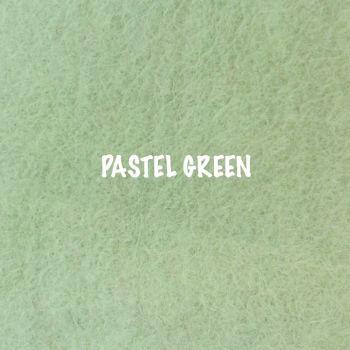 Fusion Self Adhesive Felt - Pastel Green