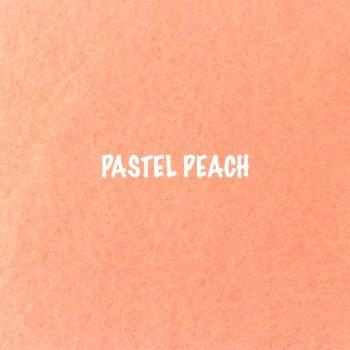 Fusion Self Adhesive Felt - Pastel Peach