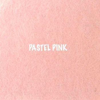 Fusion Self Adhesive Felt - Pastel Pink
