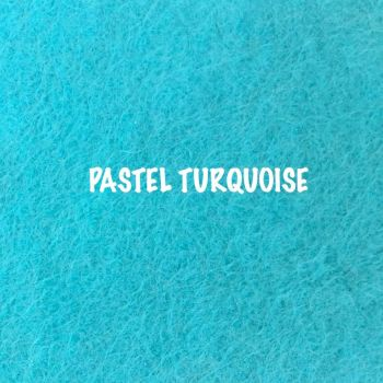 Fusion Self Adhesive Felt - Pastel Turquoise