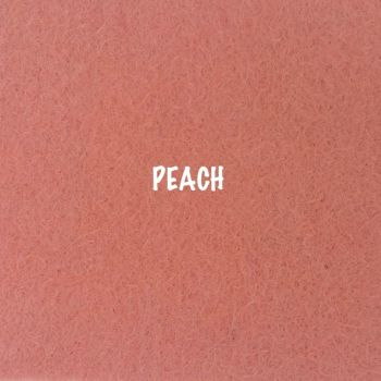 Fusion Self Adhesive Felt - Peach