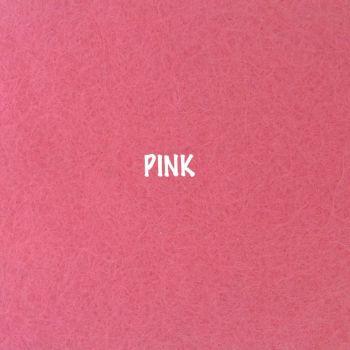 Fusion Self Adhesive Felt - Pink