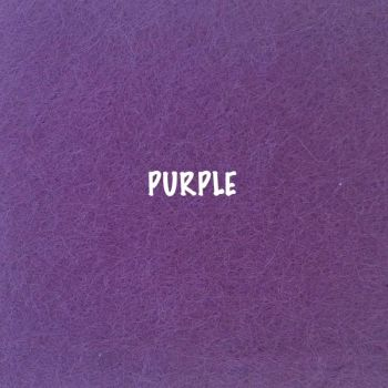 Fusion Self Adhesive Felt - Purple
