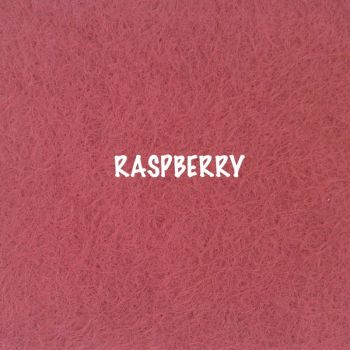 Fusion Self Adhesive Felt - Raspberry