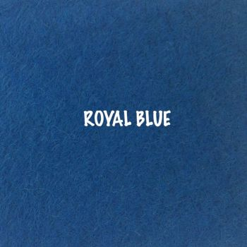 Fusion Self Adhesive Felt - Royal Blue