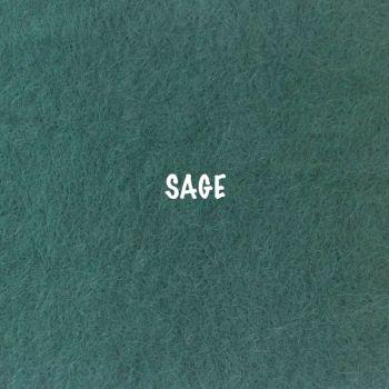 Fusion Self Adhesive Felt - Sage