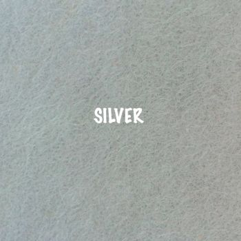 Fusion Self Adhesive Felt - Silver