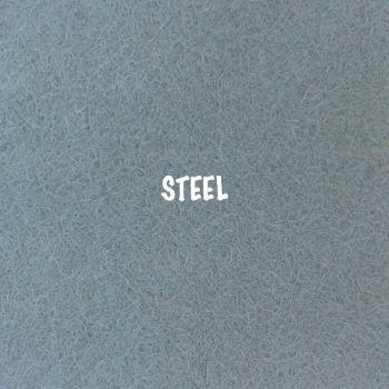 Fusion Self Adhesive Felt - Steel