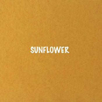 Fusion Self Adhesive Felt - Sunflower