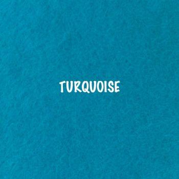 Fusion Self Adhesive Felt - Turquoise
