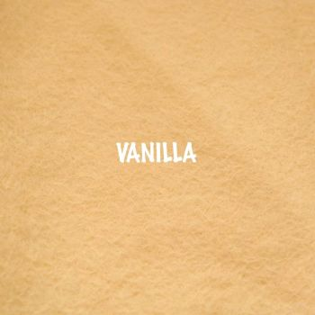 Fusion Self Adhesive Felt - Vanilla