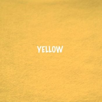 Fusion Self Adhesive Felt - Yellow