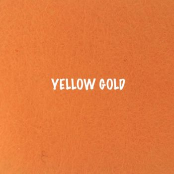 Fusion Self Adhesive Felt - Yellow Gold