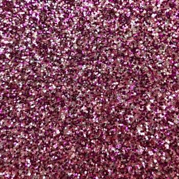 Exclusive Chunky Glitter Fabric - Opulent Purple