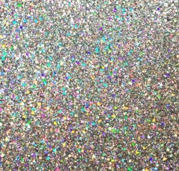 Exclusive Chunky Glitter Fabric Sheet - Glitterati