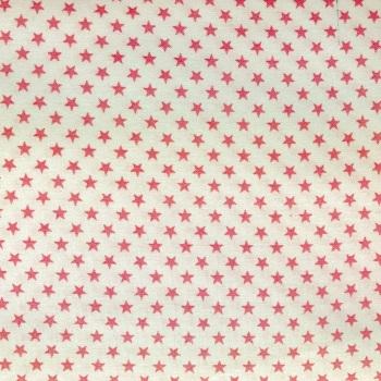 Fabric Felt - Pink Stars