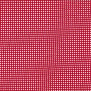 Fabric Felt - Red Gingham (25cm)