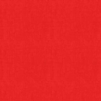 Fabric - Makower Linen Texture - Red