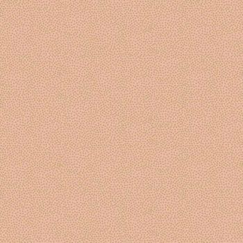 Fabric - Makower - Metallic Dotty - Peach