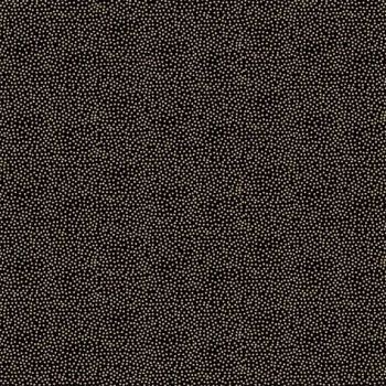 Fabric - Makower - Metallic Dotty - Black