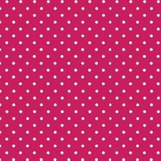 Fabric - Makower - Polka Dot - Fuchsia