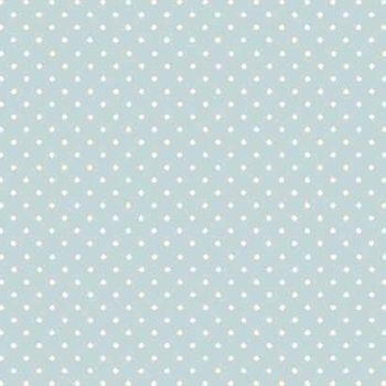 Fabric - Makower - Polka Dot - Light Blue