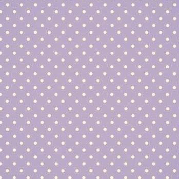 Fabric - Makower - Polka Dot - Lilac