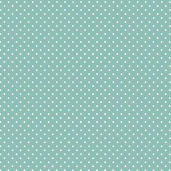 Fabric - Makower - Polka Dot - Teal