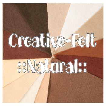 Creative Felt Colour Collection - Natural
