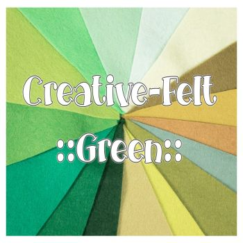 Creative Felt Colour Collection - Green