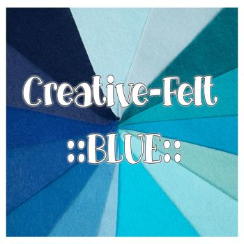 Creative Felt Colour Collection - Blue