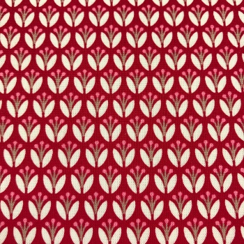 Fabric - Gutermann - Mini Red Tulips
