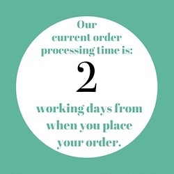 order processing time 2 days