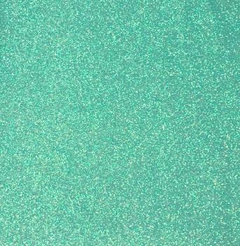 Exclusive Fine Glitter Fabric - Ice Mint