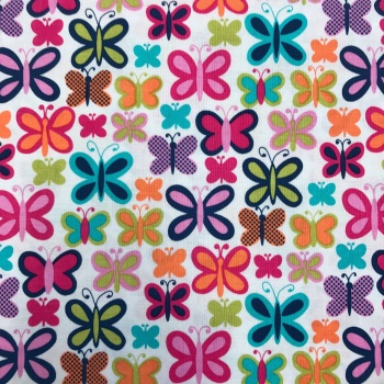 Double Sided Fabric Felt - Sweet Butterfly