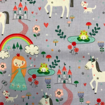 Double Sided Fabric Felt - Princess Dreams