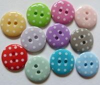 15mm Polka Dot Buttons