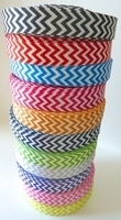 22mm Chevron Grosgrain Ribbon