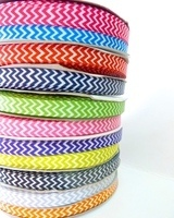 9mm Chevron Grosgrain Ribbon