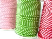 4mm Diagonal Stripe Ribbon
