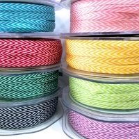 V Stripe Twill Ribbon