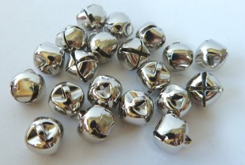 Pack of 10 - 10mm Bell - Silver