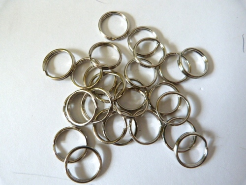 15mm Split Rings x 10