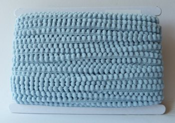 5mm Pom Pom Trim - Light Blue