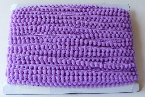 9mm Pom Pom Trim - Purple