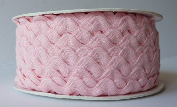 16mm Ric Rac - Light Pink