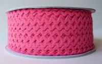 6mm Ric Rac - Bright Pink